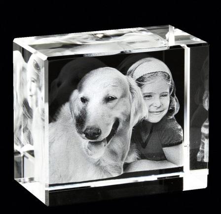 Idée Cadeau : Vos proches gravés en photo 3D !